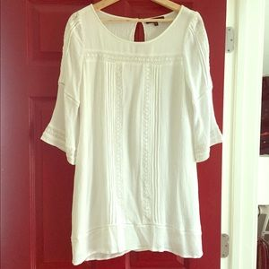 Spring/Summer Sanctuary Dress/Tunic w/ Lace Insets